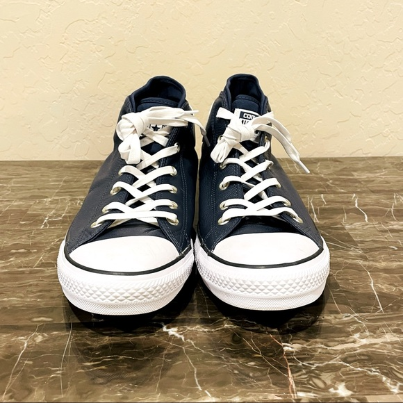 NEW Converse Leather Mid-Top All Star Syde Street Sneakers